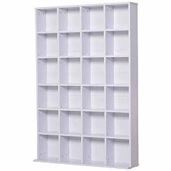 Carson Media Storage Unit White