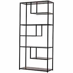 Sawyer Industrial 6-Tier Bookshelf