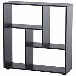 Thompson Shallow Depth Multi-Directional Bookcase Black
