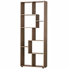 Wiley 8 Shelf Bookcase Natural