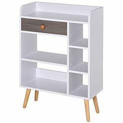 Addison Shallow Depth Multi-Shelf Storage Unit