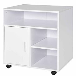 Knapp Mobile Printer Unit with 5 Compartments White