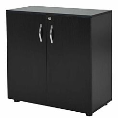 Melania 2-Tier Locking Office Storage Cabinet