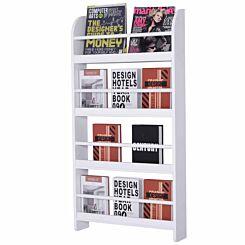 Lars 4-Tier Wall Mounted Bookshelf