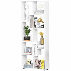 Wiley 8 Shelf Bookcase White