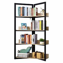 Destry 4-Tier Triangle Frame Storage Shelf