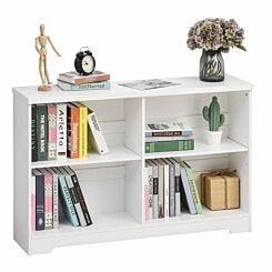 Sarn 4 Compartment Low Bookcase