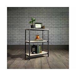 Teknik Office Industrial Two Shelf Bookcase