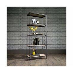 Teknik Office Industrial Four Shelf Bookcase