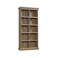 Teknik Office Barrister Home Tall Bookcase Salt Oak Effect