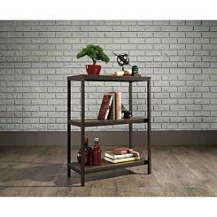 Teknik Office Industrial Two Shelf Bookcase Oak