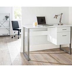 Alphason Cabrini Modern Desk White
