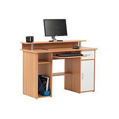 Alphason Albany Beech Effect Office Desk