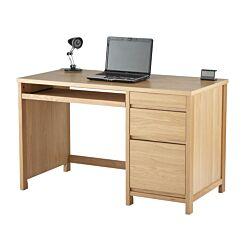 Alphason Hunter Oak Veneer Office Computer Desk
