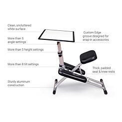 The Edge Kneeling Posture Desk System