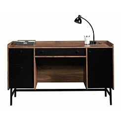 Teknik Hampstead Park Walnut Effect Desk