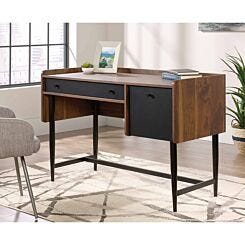 Teknik Hampstead Park Compact Walnut Effect Desk