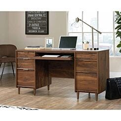 Teknik Clifton Place Walnut Effect Executive Desk