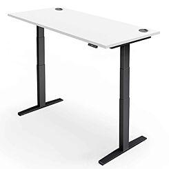 Yo-Yo Pro 2 Plus Height Adjustable Desk Black Frame 160 x 80cm