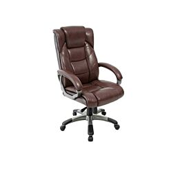 Northland Leather Faced High Back Executive Chair