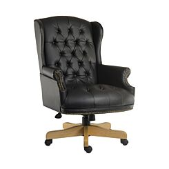 Teknik Office Chairman Swivel Executive Office Chair Black