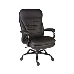 Teknik Office Goliath Leather Faced Executive Heavy Duty Chair