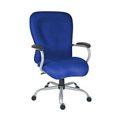 Teknik Office Titan Heavy Duty Operator Chair Blue