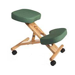 Teknik Office Wooden Posture Kneeling Chair Green