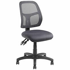 Pago Jet II Mesh Ergonomic Twin Lever Operator Chair Charcoal