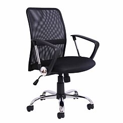 TC Office Carlos Medium Back Mesh Chair