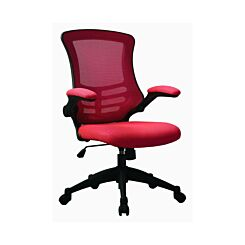 Designer Mesh Chair Red