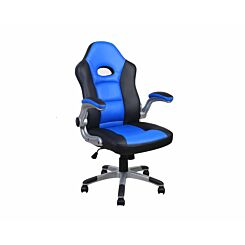 Alphason Le Mans Racing Style Gaming Chair Black Blue