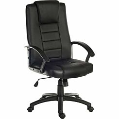 Teknik Leader Bonded Leather Faced Chair