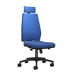 TC Office Rome High Back Chair with Headrest Blue