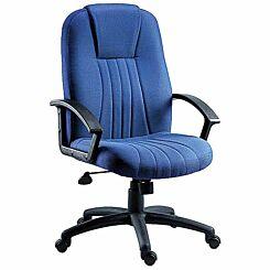 Teknik Office City Fabric Executive Chair Blue