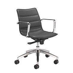 TC Office Milan Swivel Chair with Armrests