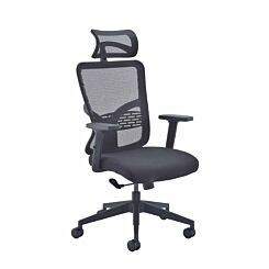 TC Office Kempes Mesh Chair with Headrest