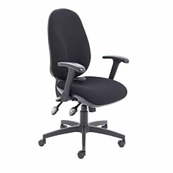 TC Office Maxi Ergo Chair with Folding Arms