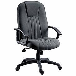 Teknik Office City Fabric Executive Chair Charcoal