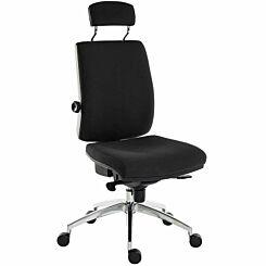 Teknik Office Ergo Plus Premier Chair with Headrest Black