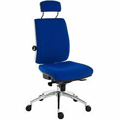 Teknik Office Ergo Plus Premier Chair with Headrest Blue