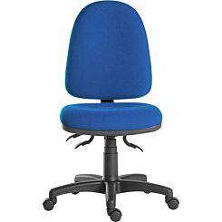 Teknik Office Ergo Trio Fabric Chair Blue