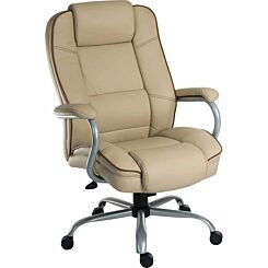 Teknik Office Goliath Duo Heavy Duty Executive Chair Cream