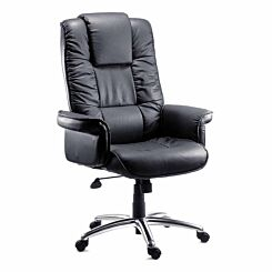 Teknik Office Lombard Luxury Bonded Leather Executive Armchair