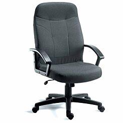 Teknik Office Mayfair Fabric Executive Armchair Charcoal