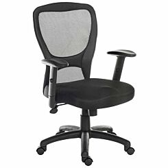 Teknik Office Mistral Contemporary Mesh Back Chair
