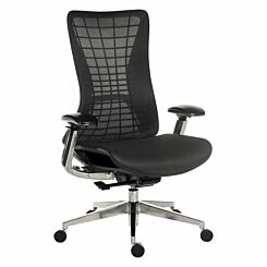 Teknik Office Quantum Luxury Mesh Backed Office Chair Black