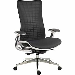 Teknik Office Quantum Luxury Mesh Backed Office Chair White