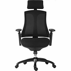 Teknik Office Rapport Luxury Mesh Executive Chair Black