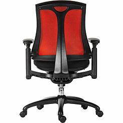Teknik Office Rapport Luxury Mesh Executive Chair Red